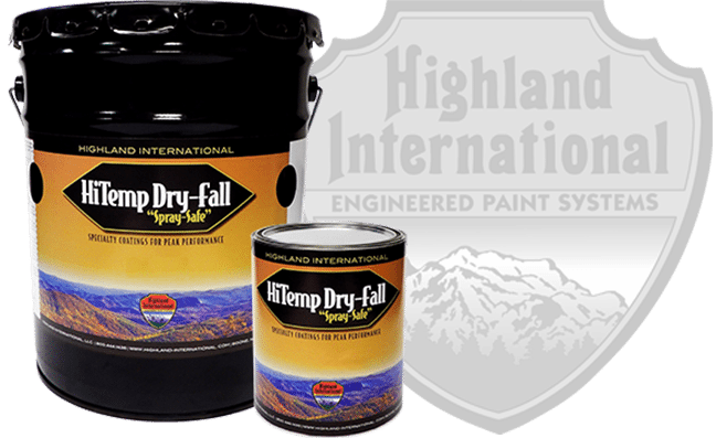 High Temp Dry Fall Paint HiTemp Dry Fall Paint High Temperature Dry Fall Paint High Temp Dry Fall Coatings HiTemp Dry Fall Coatings High Temperature Dry Fall Coatings