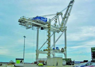 TSI Terminal Dockside Crane DSCN3190