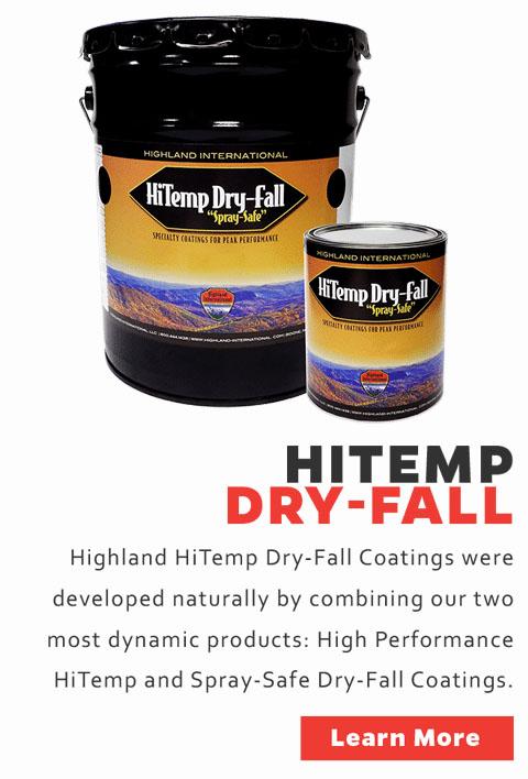 High Temp Dry Fall Paint HiTemp Dry Fall Paint High Temperature Dry Fall Paint High Temp Dry Fall Coatings HiTemp Dry Fall Coatings High Temperature Dry Fall Coatings
