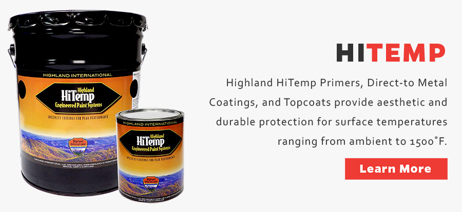 Specialty Industrial Paint HiTemp, Dry-Fall, OEM | Highland