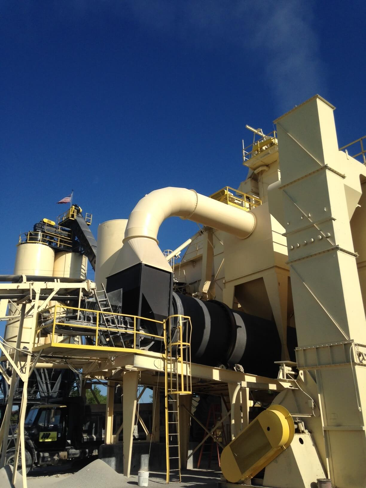Hot Mix Asphalt Plant Paint